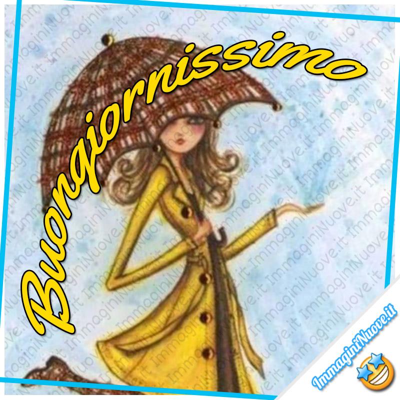 Buongiornissimo (con la pioggia)