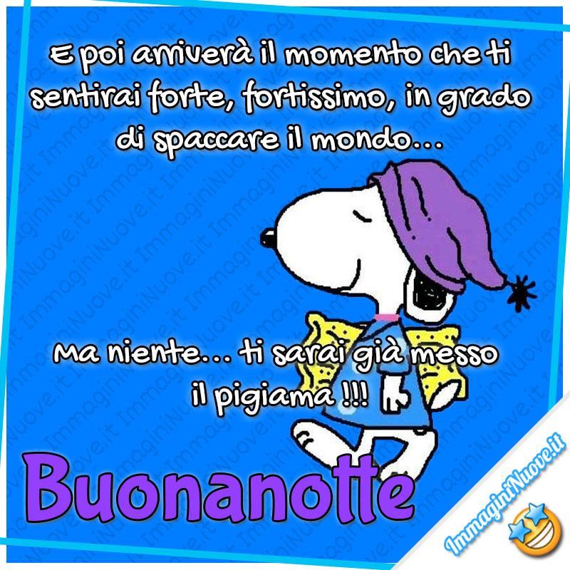 Immagini Buonanotte Con Snoopy Immagininuove It