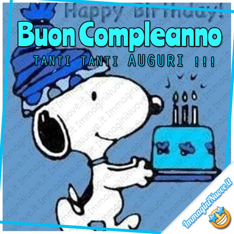 Buon Compleanno, TANTI TANTI AUGURI !!! da Snoopy