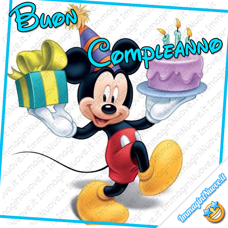 Buon Compleanno da Topolino