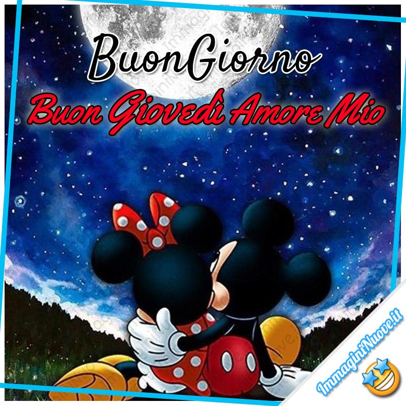 Buongiorno, Buon Giovedì Amore Mio, Disney