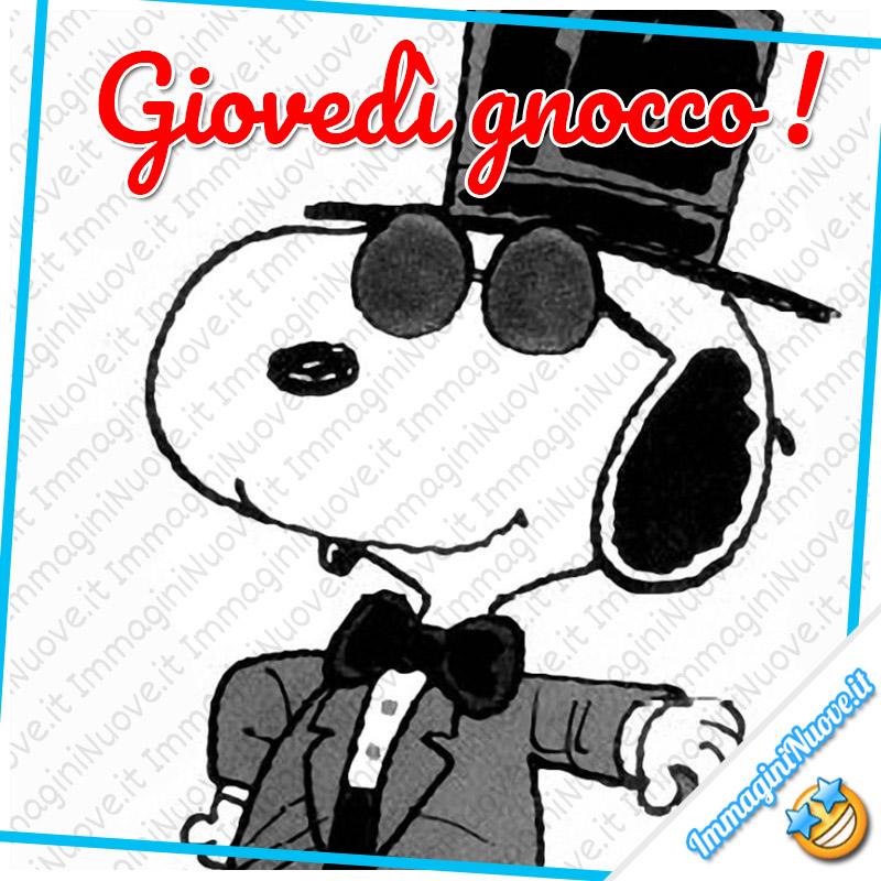 Giovedì Gnocco! Snoopy