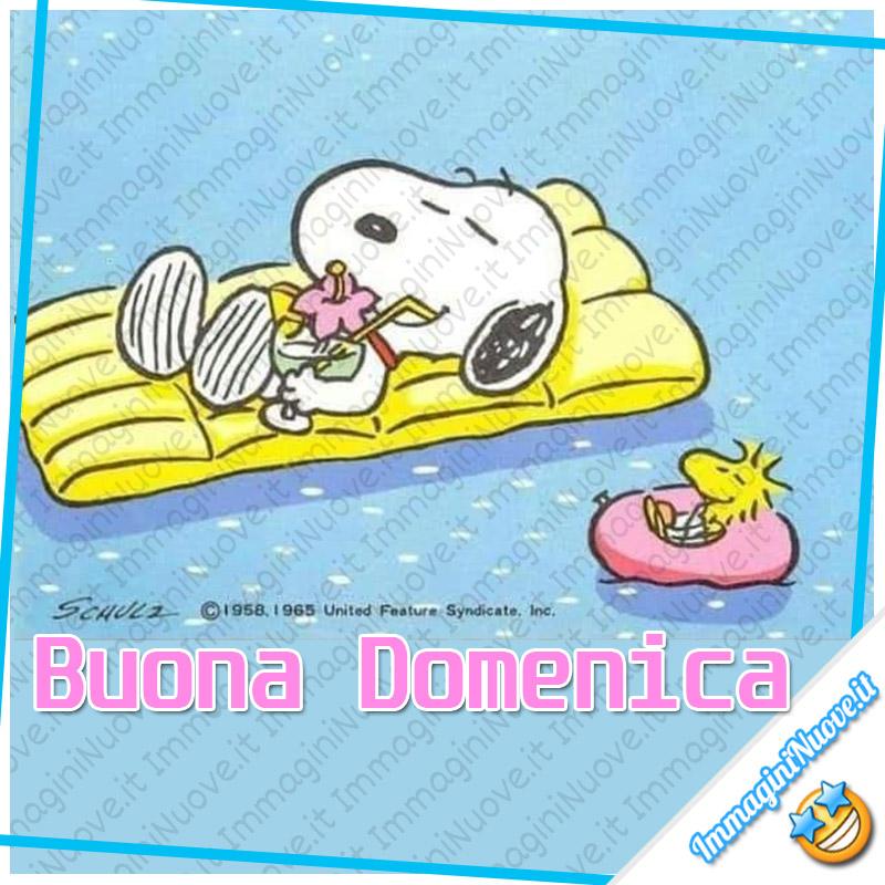 Buona Domenica Snoopy
