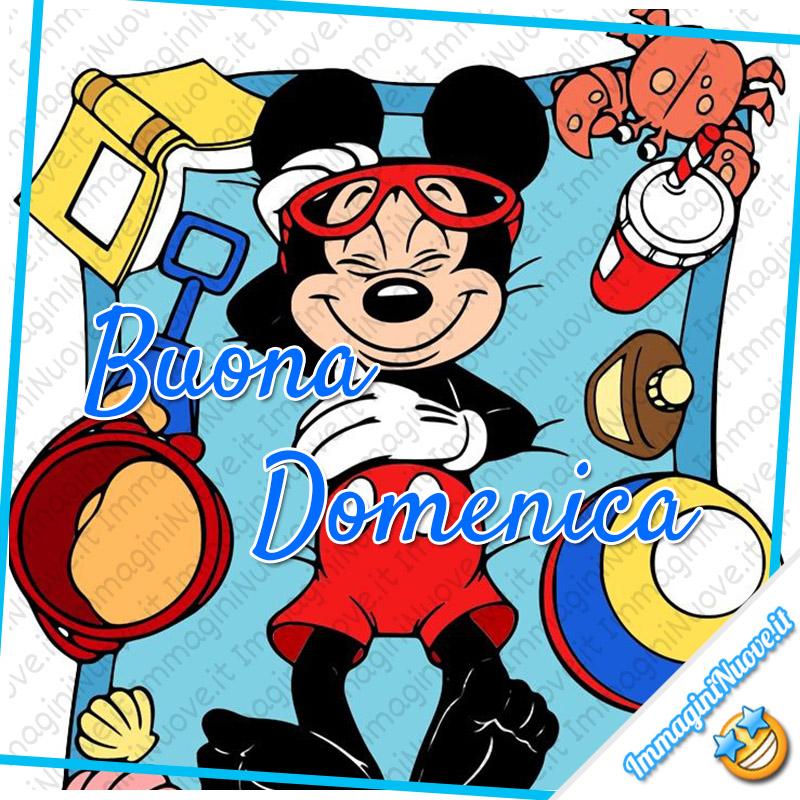 Buona Domenica immagini Disney