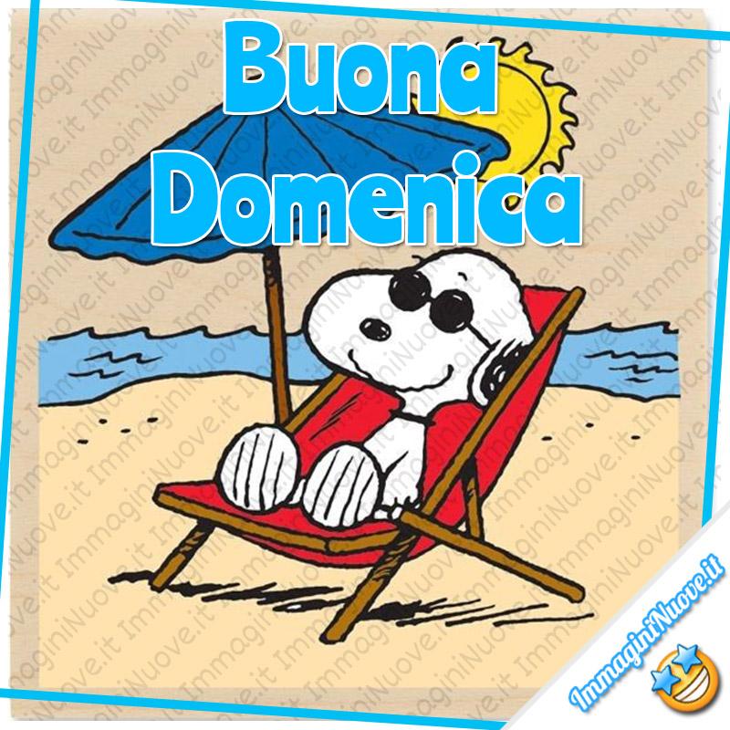 Buona Domenica immagini Snoopy