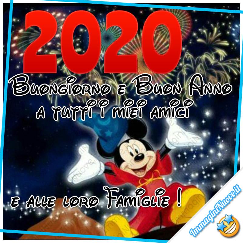 2020 Buongiorno e Buon Anno a tutti i miei amici e alle loro famiglie!