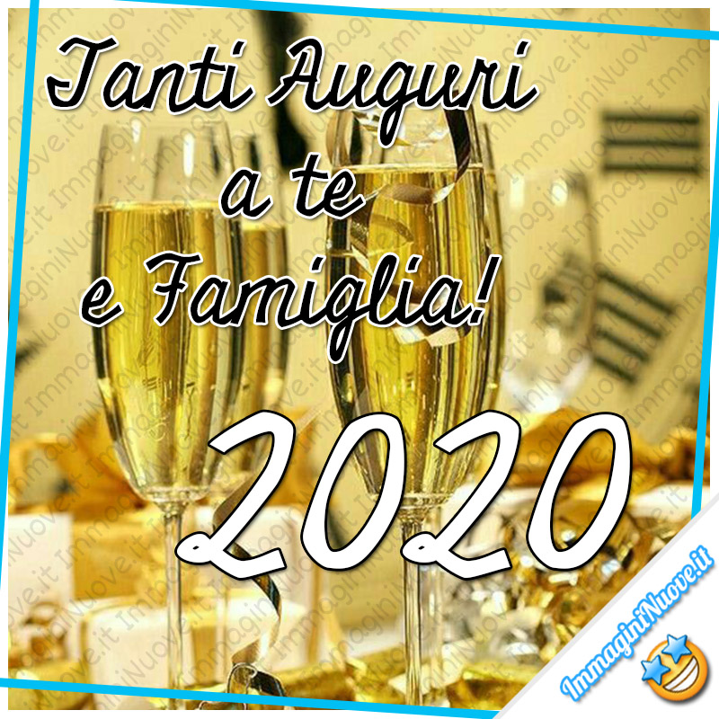 Tanti Auguri a Te e Famiglia! 2020
