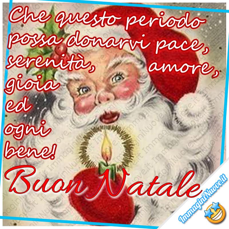 Che questo periodo possa donarvi Pace, Serenità, Amore, Gioia ed ogni bene ! Buon Natale
