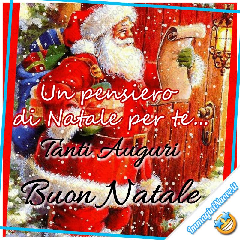 Un pensiero di Natale per te... Tanti Auguri Buon Natale