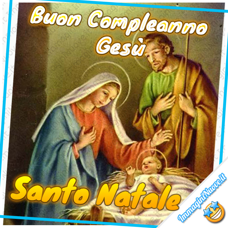 Buon Compleanno Gesù, Santo Natale