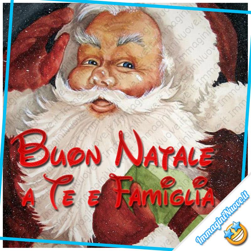 Buon Natale a Te e Famiglia