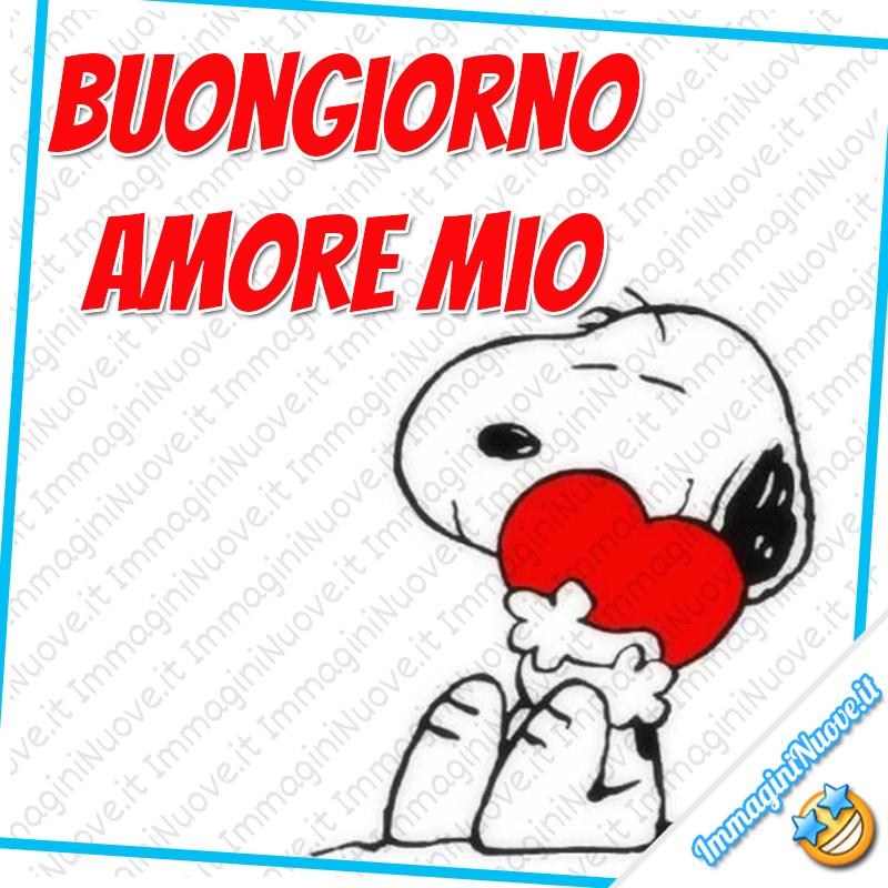 Buongiorno Amore Mio (Snoopy)