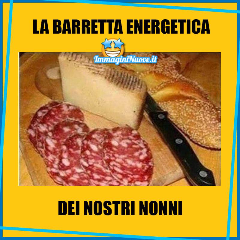 LA BARRETTA ENERGETICA DEI NOSTRI NONNI