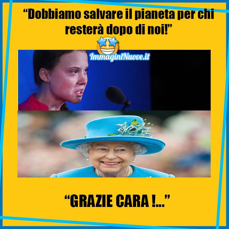 """""""DOBBIAMO SALVARE IL PIANETA PER CHI RESTERA' DOPO DI NOI!"""" """"GRAZIE CARA !..."""""""