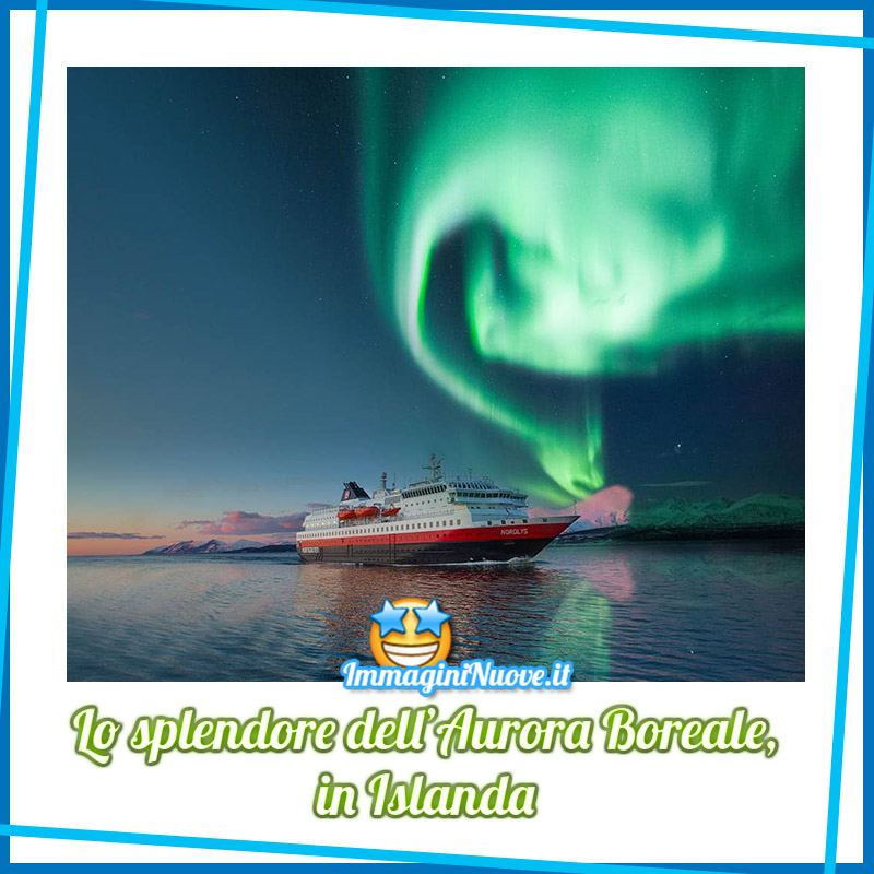 Lo Splendore dell'Aurora Boreale in Islanda