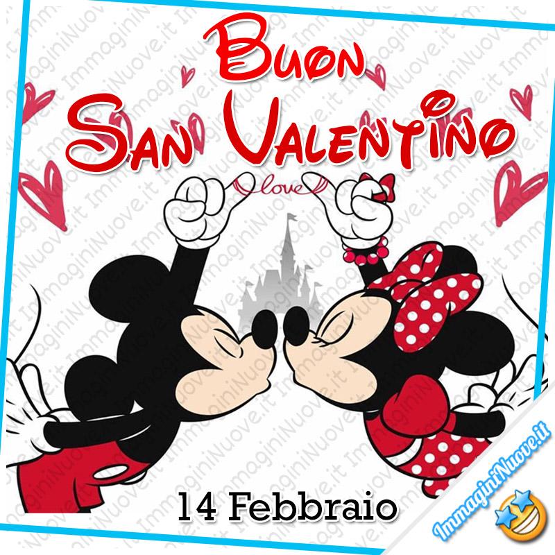 """Immagini Disney - """"Buon San Valentino, 14 Febbraio"""""""