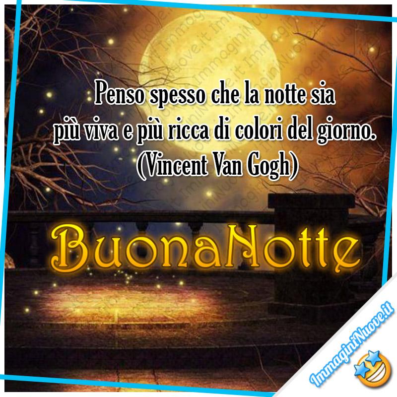 """""""Penso spesso che la notte sia più viva e più ricca di colori del giorno. (Vincent Van Gogh) Buonanotte"""""""