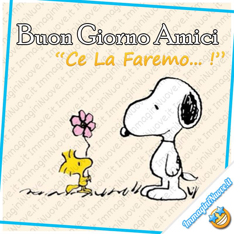 """Snoopy - """"Buon Giorno Amici, Ce La Faremo!"""""""