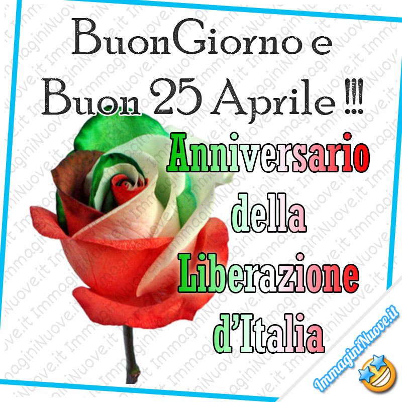 """""""Buon Giorno e Buon 25 Aprile !!! Anniversario della Liberazione d'Italia"""""""
