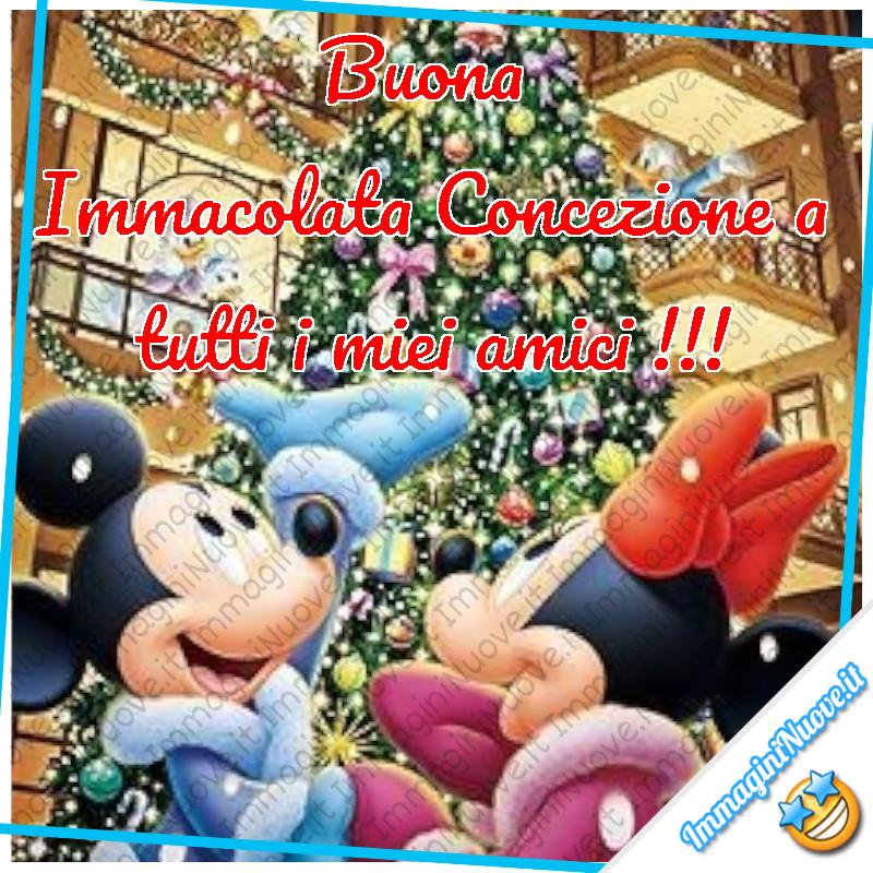 Buona Immacolata Concezione a tutti i miei amici !!!