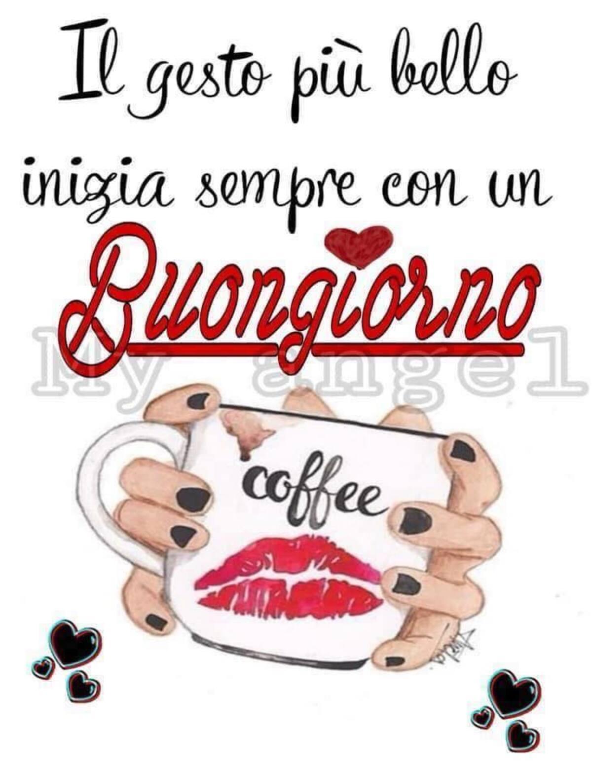 Il gesto più bello inizia sempre con un buongiorno, ti va del caffè?